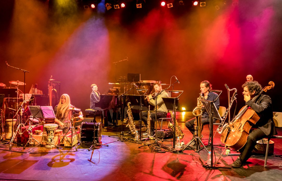 Evelyn Glennie and Echoes from the Birdcage