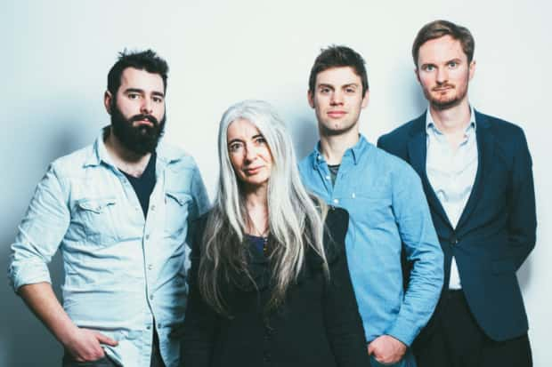 Evelyn Glennie and Trio HLK promotional photographs for tour