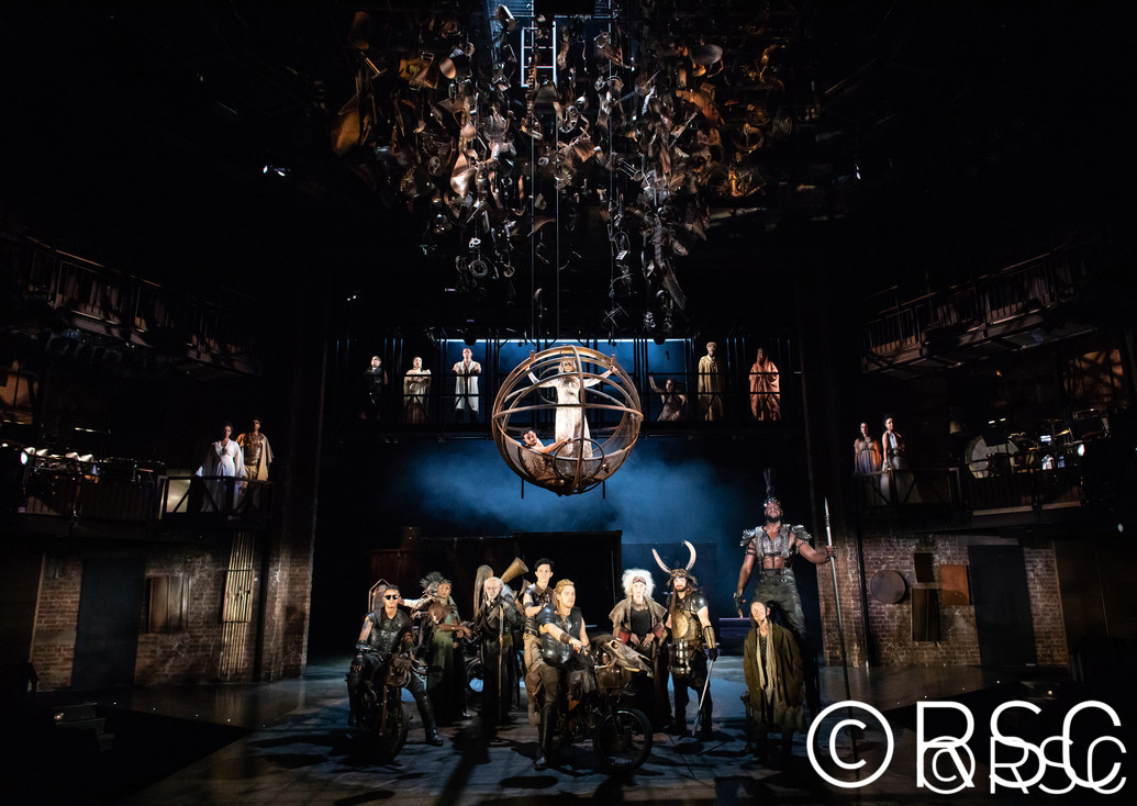 Evelyn Glennie and Royal Shakespeare Company Troilus and Cressida Theatre