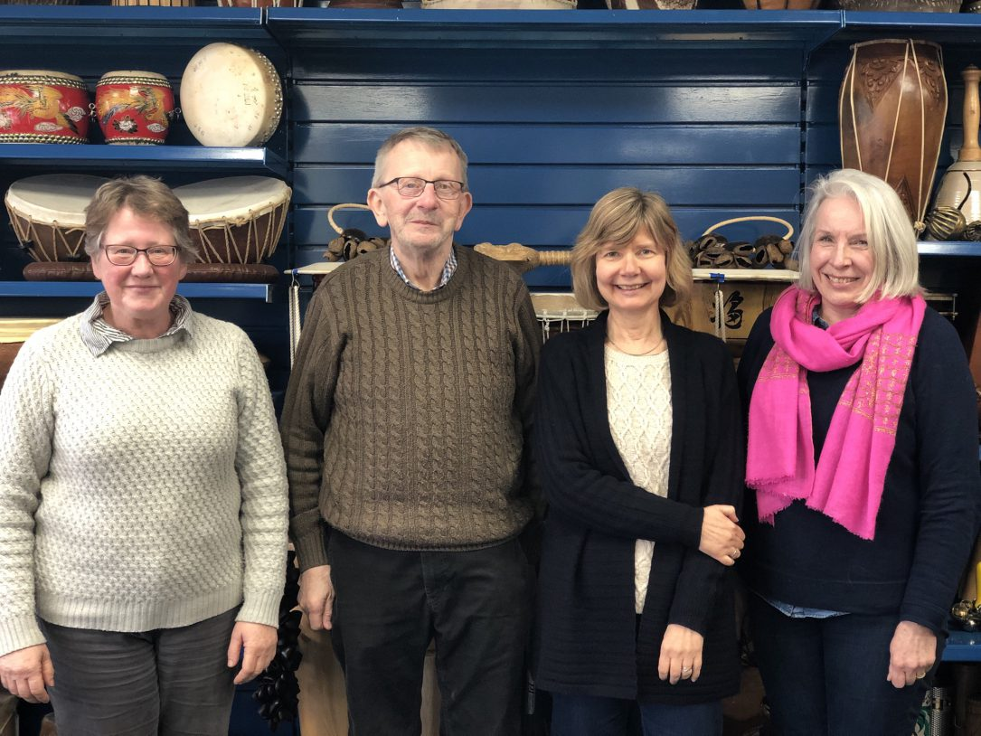 The Evelyn Glennie Collection Volunteer Team