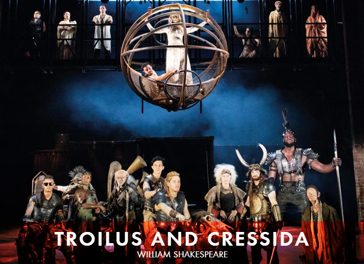 Click the image to watch the RSC Troilus and Cressida trailer