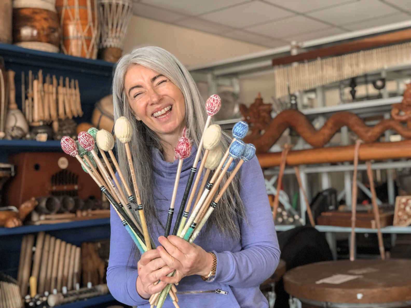 Evelyn Glennie Mallets and Sticks