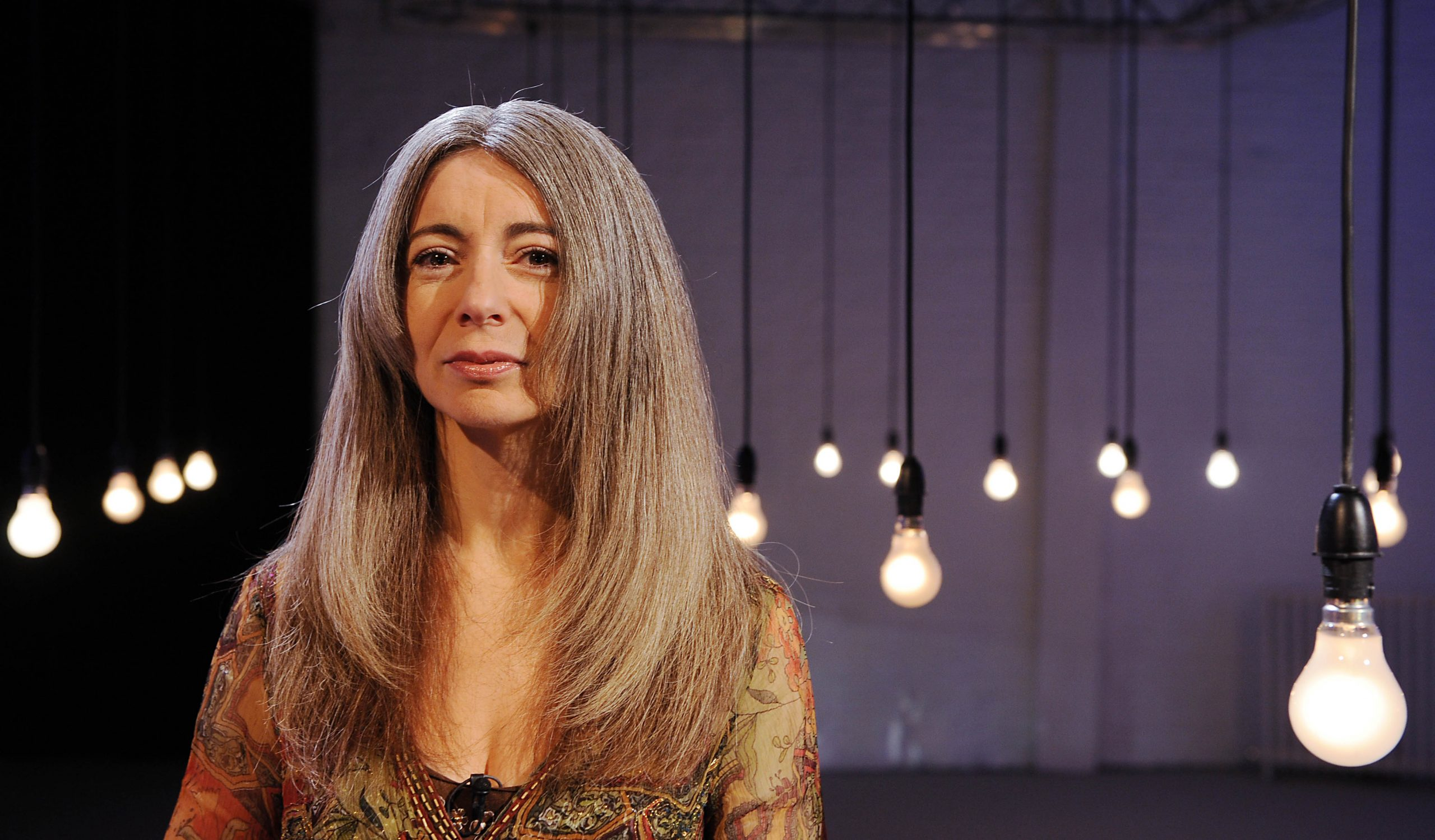 A photograph of Evelyn Glennie